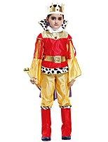 cheap -Cosplay Outfits Boys' Halloween / Carnival / Children's Day Festival / Holiday Halloween Costumes Yellow Solid Colored / Halloween Halloween