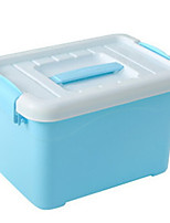 abordables -Polyester Rectangle Cool Accueil Organisation, 1pc Rangement de Maquillage