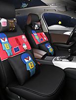 Недорогие -ODEER Чехлы на автокресла Чехлы для сидений Черный / Красный текстильный Общий for Универсальный Все года Все модели