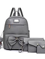 cheap -Women's Bags PU(Polyurethane) Bag Set 4 Pieces Purse Set Bear Red / Gray / Brown