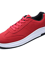 cheap -Men's Shoes PU(Polyurethane) Fall Comfort Sneakers White / Black / Red