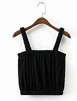 cheap -Women's Basic Tank Top - Solid Colored