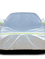 abordables -Cobertura completa Cubiertas de coche Algodón / Película de aluminio Reflexivo / Antirrobo / Barra de advertencia For Mazda Mazda6 Todos los Años For Todas las Temporadas