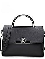 cheap -Women's Bags PU(Polyurethane) Shoulder Bag Solid Gray / Purple / Light Purple