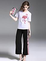 cheap -Women's Polo - Striped / Geometric Pant