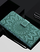 cheap -Case For Xiaomi Mi 7 / Mi 8 Wallet / Card Holder / with Stand Full Body Cases Flower Hard PU Leather for Xiaomi Redmi Note 5A / Xiaomi Redmi Note 4X / Xiaomi Redmi Note 3