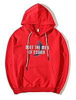cheap -men's long sleeve hoodie - letter hooded