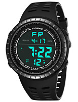 cheap -SYNOKE Men's Sport Watch / Digital Watch Calendar / date / day / Chronograph / Water Resistant / Water Proof PU Band Fashion Black / Grey / Clover