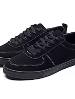 cheap -Men's PU(Polyurethane) Spring Comfort Sneakers Color Block Black / Gray