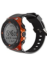 cheap -Smartwatch D-Watch 01D for iOS / Android Waterproof / Calories Burned / Long Standby / Creative / New Design Stopwatch / Pedometer / Call Reminder / Activity Tracker / Sleep Tracker / Alarm Clock