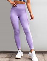 preiswerte -Damen Sportlich Legging - Solide Mittlere Taillenlinie