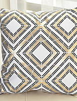 cheap -1 pcs Polyester Pillow Case, Plaid / Check Geometric
