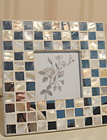 Недорогие -Модерн пластик Зеркальное Рамки для картин, 1шт