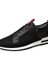 cheap -Men's Comfort Shoes Mesh Summer Sneakers Black