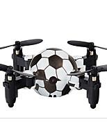 baratos -RC Drone DH800 RTF 4CH 6 Eixos 2.4G Com Câmera HD 0.3 mega 720p Quadcópero com CR Retorno Com 1 Botão / Modo Espelho Inteligente / Vôo Invertido 360° Quadcóptero RC / Controle Remoto / 1 Cabo USB