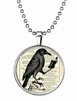 cheap -Men's Luminous Stone Long Pendant Necklace - Bird Cartoon, Fashion Cute Blue 60 cm Necklace Jewelry 1pc For Halloween, Club