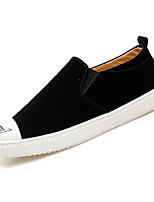 cheap -Men's Suede Summer Comfort Loafers & Slip-Ons Black / Gray / Khaki