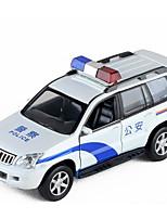 abordables -Coches de juguete Coche de policía Coche Nuevo diseño Aleación de Metal Todo Niño / Adolescente Regalo 1 pcs