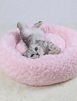 Недорогие -Мягкий Одежда для собак Кровати Однотонный Бежевый / Коричневый / Розовый Собаки / Коты