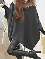 abordables -Tee-shirt Grandes Tailles Femme, Couleur Pleine