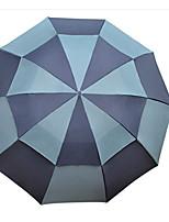 Недорогие -Полиэстер / Нержавеющая сталь Все Солнечный и дождливой Складные зонты