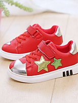cheap -Girls' Shoes Canvas Spring & Summer Comfort Sneakers Walking Shoes for Kids White / Black / Red