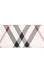 cheap -Women's Bags PVC(PolyVinyl Chloride) Wallet Pattern / Print White