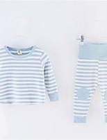cheap -Toddler Girls' Striped Long Sleeve Clothing Set