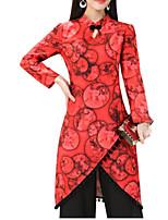 cheap -Women's Basic Set - Floral, Split Pant