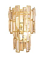 cheap -QIHengZhaoMing Crystal LED / Modern / Contemporary Wall Lamps & Sconces Shops / Cafes / Office Metal Wall Light 110-120V / 220-240V 3 W