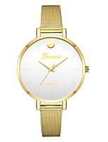 cheap -Geneva Women's Wrist Watch Chinese New Design / Casual Watch / Cool Alloy Band Casual / Fashion Gold