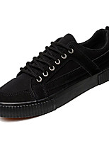 cheap -Men's PU(Polyurethane) Fall Comfort Sneakers Color Block Black / Gray / Black / Yellow