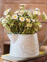 Недорогие -Искусственные Цветы 1 Филиал Классический Простой стиль / Пастораль Стиль Ромашки Букеты на стол
