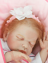 cheap -NPKCOLLECTION Reborn Doll Baby Girl 22 inch lifelike, Hand Applied Eyelashes, Tipped and Sealed Nails Kid's Girls' Gift / Natural Skin Tone / Floppy Head