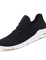 cheap -Men's Canvas / Synthetics Summer Comfort Sneakers Black / Gray / Black / White