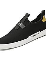 Недорогие -Муж. Сетка Осень Удобная обувь Кеды Черный / Красный / Черный / Желтый