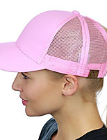cheap -Unisex Basic / Holiday Baseball Cap - Solid Colored Mesh