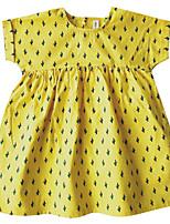 economico -Bambino (1-4 anni) Da ragazza A pois Senza maniche Vestito