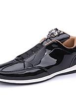 cheap -Men's PU(Polyurethane) Fall Comfort Sneakers Gold / Black / Silver