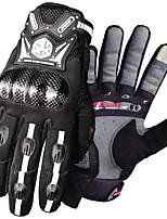 baratos -Scoyco Dedo Total Homens Motos luvas Fibra de carbono Sensível ao Toque / Anti-desgaste / Resistente ao Choque