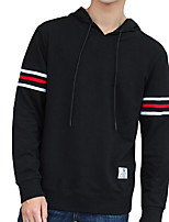 cheap -Men's Basic Hoodie - Solid Colored / Ice Cream