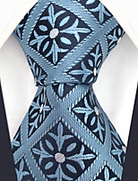 cheap -Men's Party / Work Necktie - Color Block / Check / Jacquard