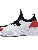 Недорогие -Муж. Микроволокно Лето Удобная обувь Кеды Желтый / Красный / Синий