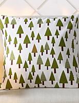 cheap -1 pcs Cotton / Linen Pillow, Plaid / Checkered / Geometic Simple / Geometric