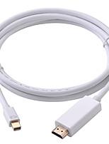 preiswerte -1 Mini Displayport HDMI 2.0 Male - Male 1080P 1.8M (6Ft)