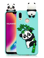 economico -Custodia Per Huawei P20 Pro / P20 lite Fai da te Per retro Panda Morbido TPU per Huawei P20 / Huawei P20 Pro / Huawei P20 lite / P10 Lite / P10
