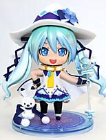 baratos -Figuras de Ação Anime Inspirado por Vocaloid Hatsune Miku PVC 10 cm CM modelo Brinquedos Boneca de Brinquedo