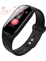 baratos -Pulseira inteligente B40 para Impermeável / Medição de Pressão Sanguínea / Calorias Queimadas / Suspensão Longa / Tela de toque Podômetro / Aviso de Chamada / Monitor de Atividade / Monitor de Sono