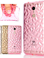 cheap -Case For Xiaomi Redmi Note 5 Pro / Mi 8 Transparent Back Cover Solid Colored / Geometric Pattern Soft TPU for Xiaomi Redmi Note 5A / Xiaomi Redmi Note 5 Pro / Xiaomi Redmi 5