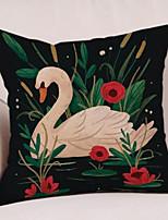 cheap -1 pcs Cotton / Linen Pillow, Animal Animals